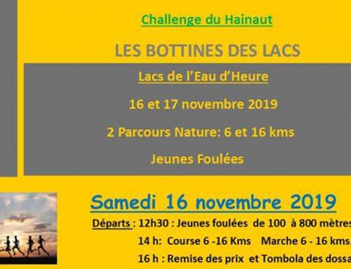 16 Novembre 2019 / Les Bottines des lacs  / Challenge du Hainaut