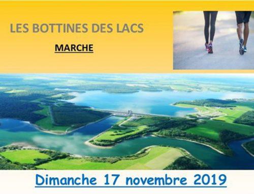 17 Novembre 2019 / Les Bottines des lacs  / Marche6 – 16 kms